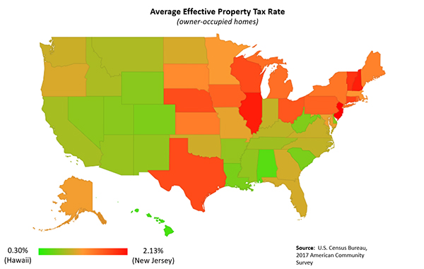 Figure 2. Average Effective Property Tax Rate