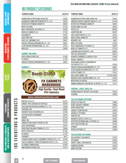 Product Category Advertisements
