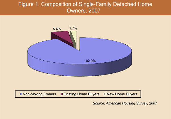 Figure 1. Composition of Single-Family Detached Home Owners, 2007